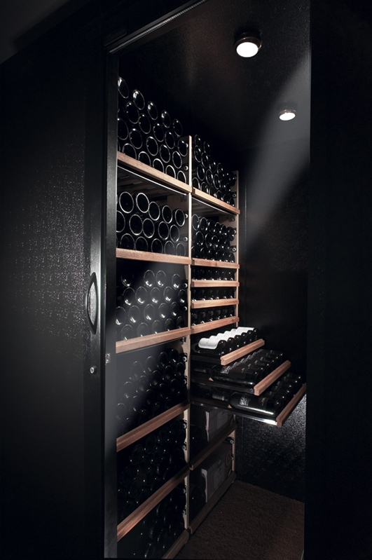 Home Wine Cellar Interior