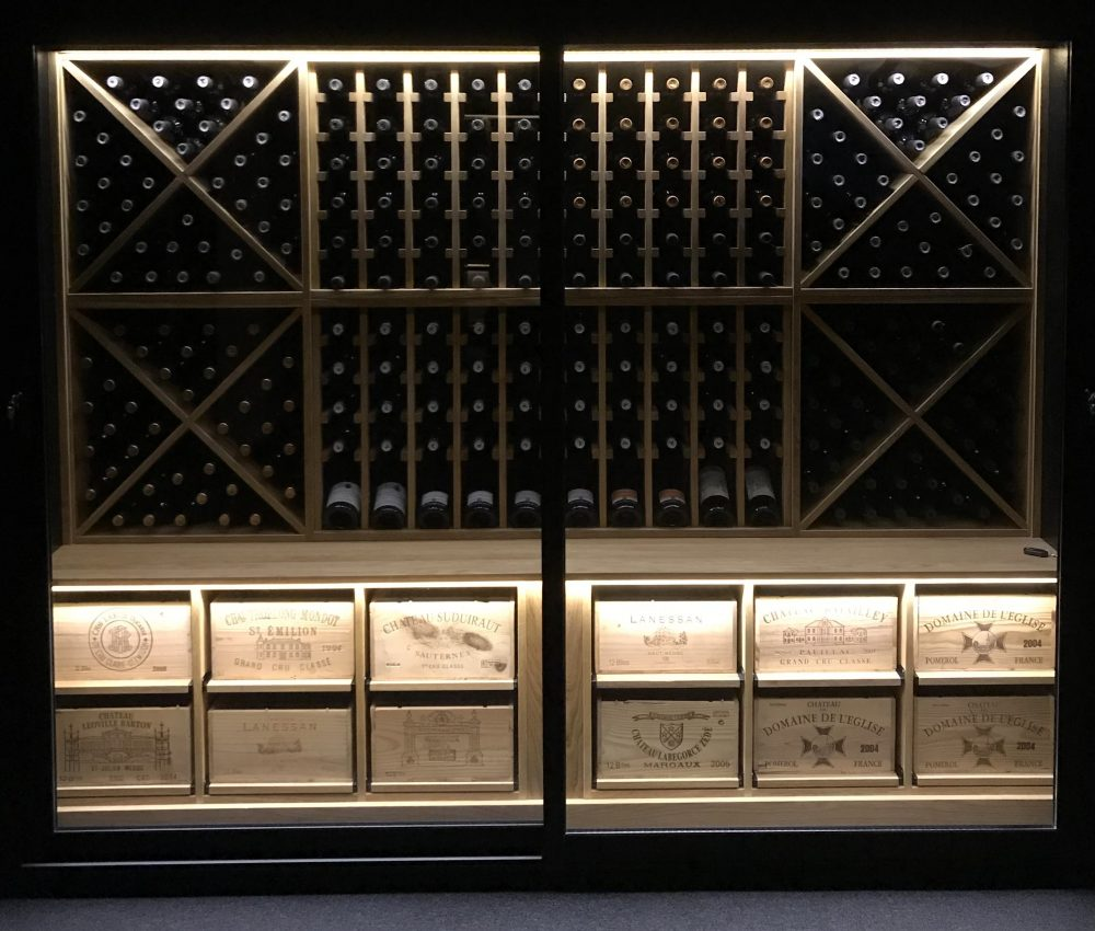 Wine Wall Illuminated